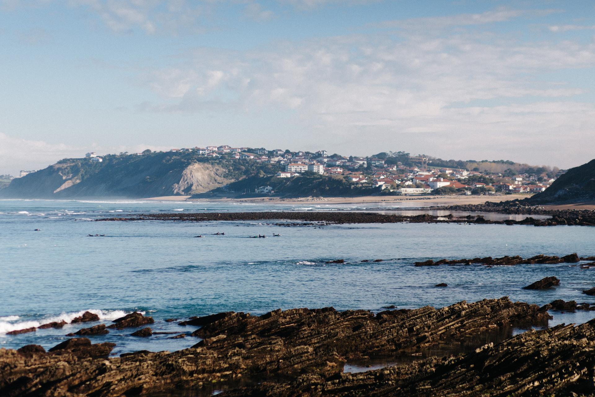 plage basque, guethary, bidart,